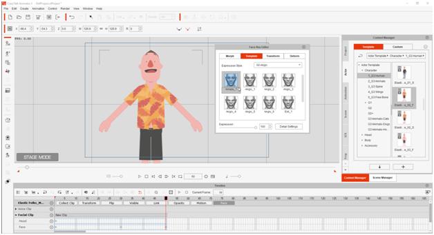 Khóa học Crazytalk Animator 3 từ cơ bản đến nâng cao