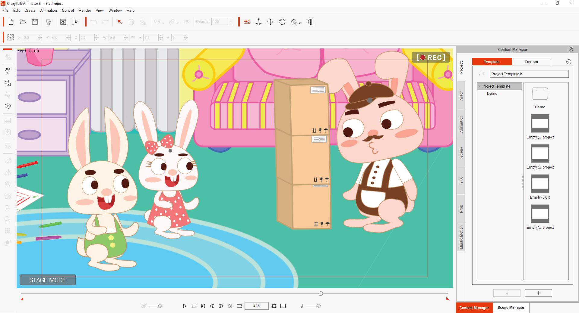 Khóa học Làm Video Hoạt hình hoàn chỉnh bằng Crazytalk Animator 3